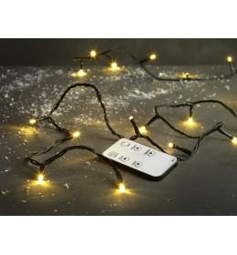 Novogodišnje lampice sa daljinskim upravljačem 400 LED 45m