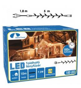Novogodišnje LED lampice za spoljnu i unutrašnju upotrebu 5 m toplo bela