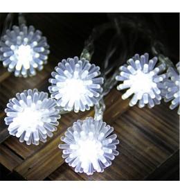 Novogodišnje LED svetleće kuglice
