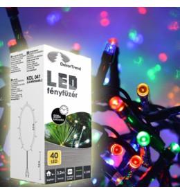 Novogodišnje multi LED lampice 40 sijalica