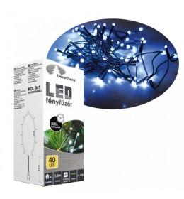 Novogodišnje plave LED lampice 40 sijalica