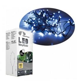 Novogodišnje plave LED lampice 80 sijalica