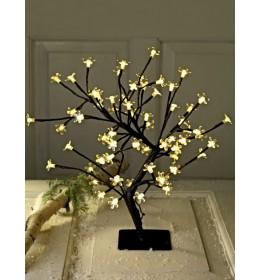 Novogodišnje svetleće LED drvo Flower