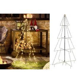 Novogodišnje svetleće LED drvo 3D Drvo