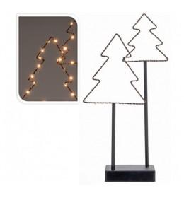 Novogodišnji ukras LED Jelka 41cm