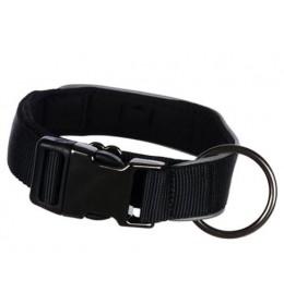 Ogrlica za pse široka veličina S-M trixie expiriance crna