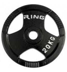 Olimpijski tegovi liveni sa hvatom 1x 20kg RX PL14-20