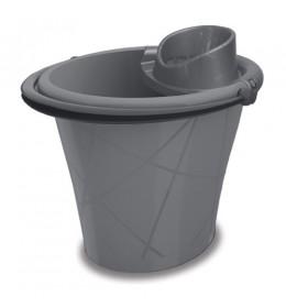 Ovalna kanta 15l + cedilica