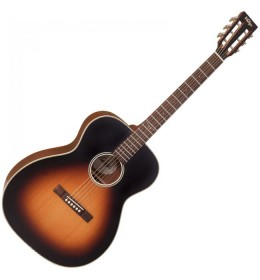 Ozvučena akustična gitara Vintage VE440VB Vintage Sunburst