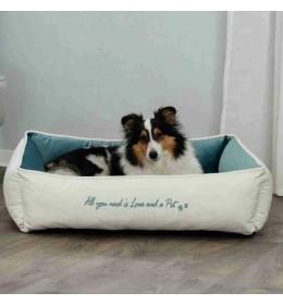 Pet's Home krevet za pse krem-petrolej