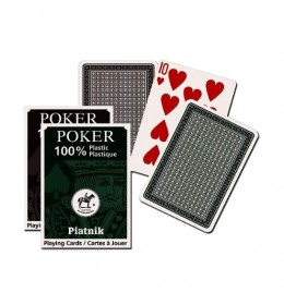 Piatnik karte 100% Plastic Eko 1/1 1362