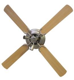 Plafonski luster ventilator sa tri sijalice
