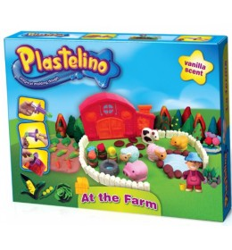 Plastelin set farma Plastelino