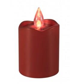 Plastična sveća LED CDX2/RD