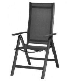 Podesiva stolica sa 5 položaja Lomina alu/tekstilen