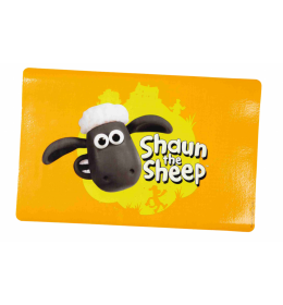 Podloga za posude za psa ovčica Šone žuta