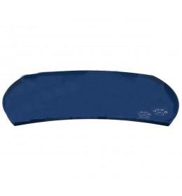 Podloga za posude za psa silikonska plava