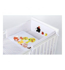 Posteljina za bebu Set 5 delova Hedgehogs