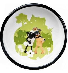Posuda za psa Ovca zelena 12 cm
