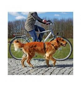 Povodac za bicikl i džogiranje 1-2 m/25mm plavi