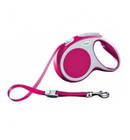 Povodac za psa roze boje 5 m Vario flexi