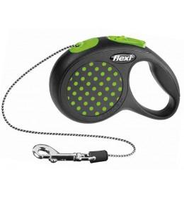 Povodac za pse Flexi XS 3m zelena