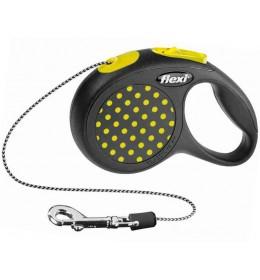 Povodac za pse Flexi XS 3m žuta