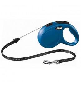 Povodac za pse Flexi classic M 5m plava