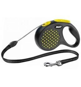 Povodac za pse Flexi S 5m žuta