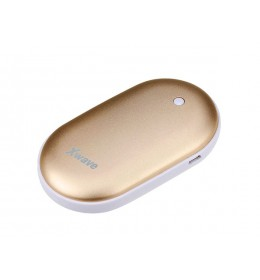 Power Bank 5200mAh + grejač ruku Warm up 52 gold Xwave 023906