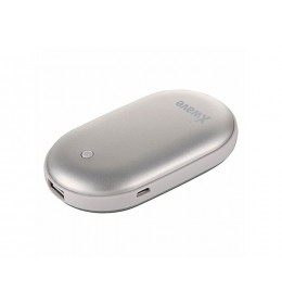 Power Bank 5200mAh + grejač ruku Warm up 52 silver Xwave 023907