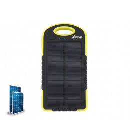 Power Bank 6000mAh Xwave Camp L 60 yellow solarni punjač i LED svetlo 023628