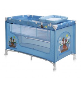 Prenosivi krevetac Baby nanny 2 nivoa Blue Adventure