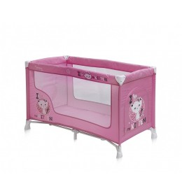 Prenosivi krevetac Nanny 1 nivo Pink kitten