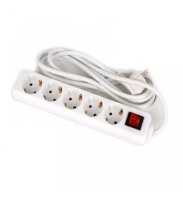 Produžni kabl sa 6 priključaka 3 metra USB