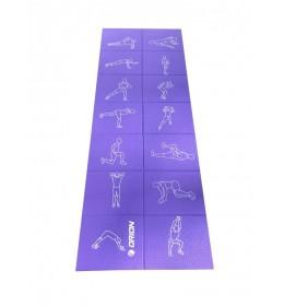 Prostirka za jogu Orion EM3016F 4mm purple