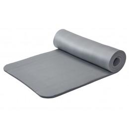 Prostirka za vežbanje 1.5cm siva