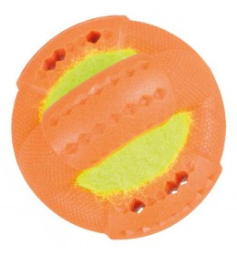Prsten sa tenis lopticom narandžasta