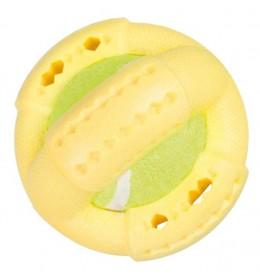 Prsten sa tenis lopticom žuta