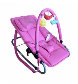 Ležaljka Puerri I love Mommy roze