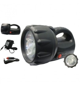 Punjiva ručna lampa sa LED i halogenom sijalicom