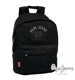 Ranac za školu Pepe Jeans Denim Brand Black