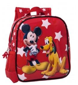 Ranac za vrtić 25 cm Mickey & Pluto Stars 20.620.51