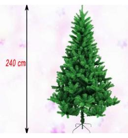Realistična novogodišnja jelka 240 cm