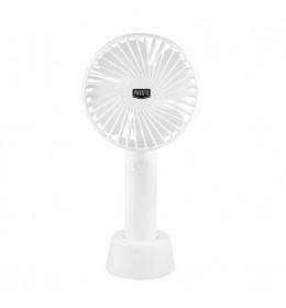 Ručni punjivi ventilator Prosto beli