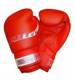 Rukavice za boks od prirodne kože PRO 12 OZ crvene