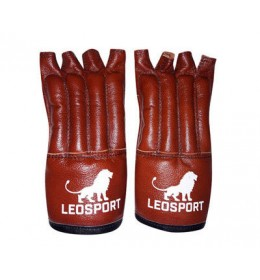 Rukavice za MMA braon Leosport