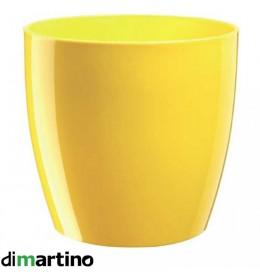 Saksija bez podmetača Rio 20 žuta