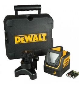 Samonivelišući laser linija 360° + vertikalna linija  DeWalt DW0811