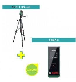 Samonivelušući laser za linije Bosch PLL 360 set + poklon